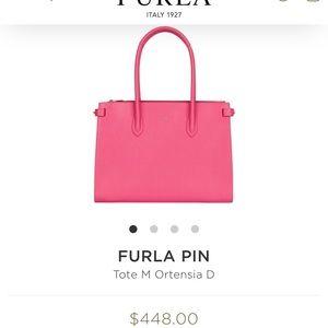 BRAND NEW   FURLA Pin Handbag